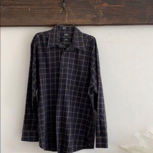 Haggar dress shirt EUC